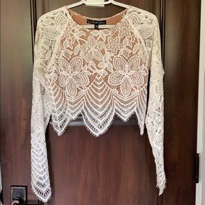 two piece lace dress for love and lemons set !